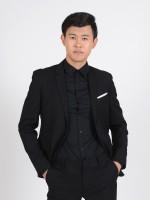 BBS e-commerce man suit black jacket B