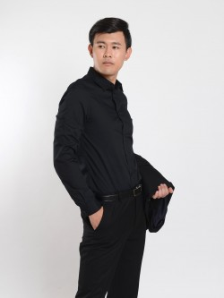BBS e-commerce man suit black shirt A