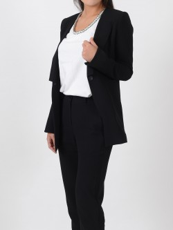 BBS e-commerce model mrn kim suit black jacket A Demo cut