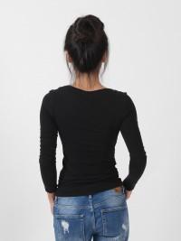 BBS 블랙 이너 티셔츠