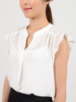 BBS e-commerce sy jung white blouse B